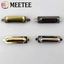 4pcs MeeTee Bridge shape metal buckles,D Ring,Bags Hardware Decoration for Luggage accessories F1-17