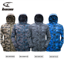 LXIAO Autumn Couple's Military Camouflage Jacket Casual Hooded Men & Women Windbreakers Fashion Style Jacket Trend Plus Size 5Xl