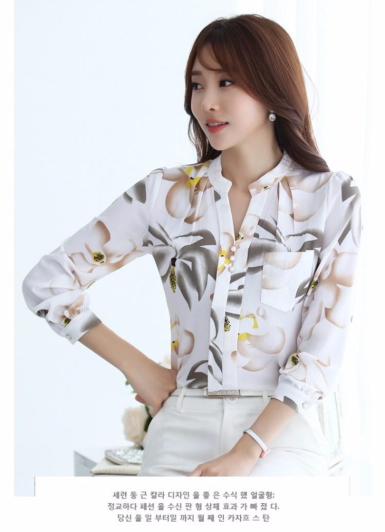 HTB1DLhBNVXXXXXhaXXXq6xXFXXXS - Autumn Fashion Blouse Office Work Wear shirts Women Tops