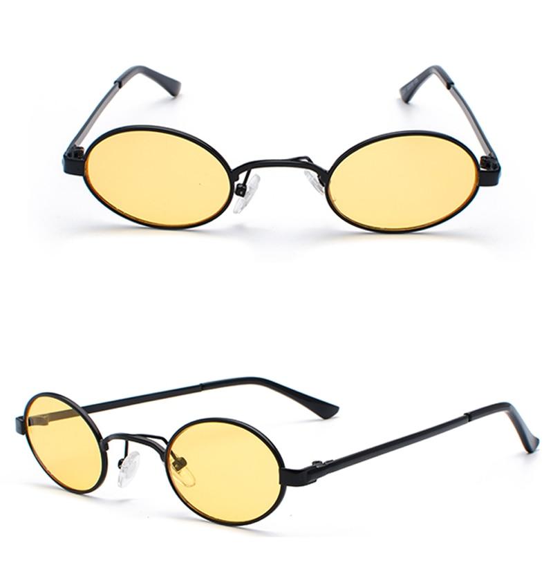 Tiny Oval Sunglasses Men detail (7)