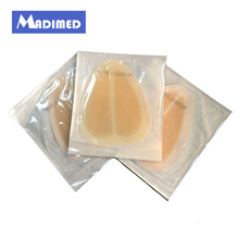 MADIMED 10pcs/box 15X18cm medical adhesive hydrocolloid border dressing for sacrococcygeal wound care pressure sores bedsores