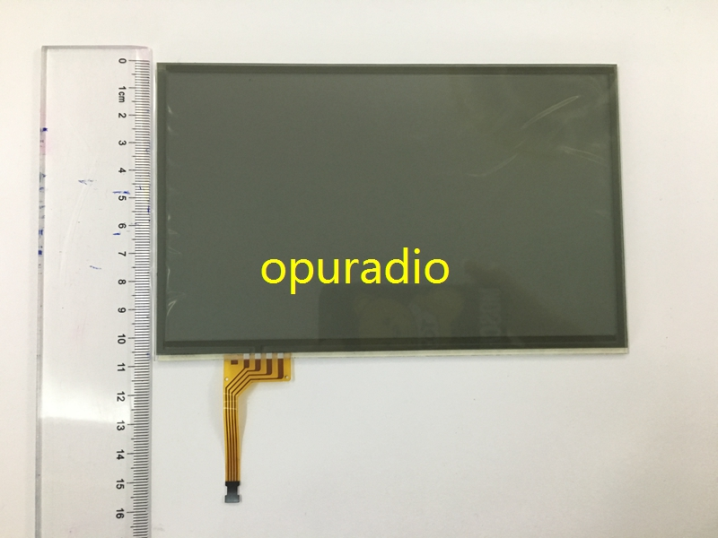 wholesale 10 pieces 7 inch 4 pin Black glass touch Screen panel Digitizer Lens for LTA070B511F