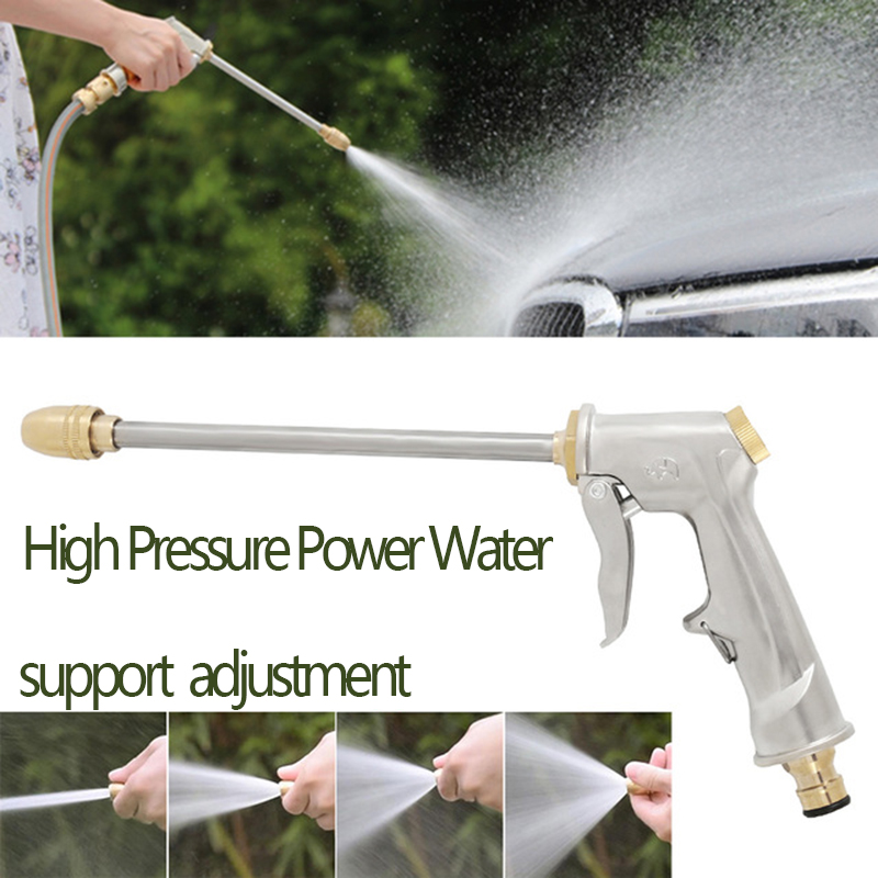 Image 5 - High Pressure Power Water Gun Car Washer Water Jet Garden Washer Hose Wand Nozzle Sprayer Watering Spray Sprinkler Cleaning Tool-in Garden Water Guns from Home & Garden