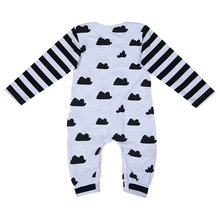 MACH Toddler Baby Girl Boy Clothes Long Sleeve Romper Jumpsu