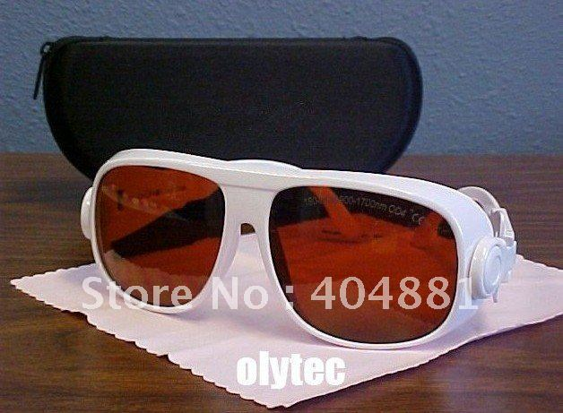 Laser Safety Goggle For 190-540nm&900-1700nm. O.D  4+ 5+ 6+ CE Certified 532 980 1064 1320 1470nm Lasers
