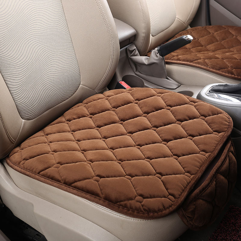 Winter Plush Car Seat Cover Cushion For Cadillac ATS CTS XTS SRX SLS Escalade Series Car pad,auto seat cushions Free Shipping