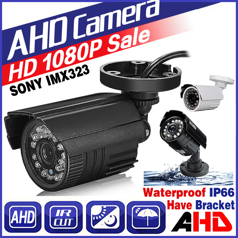 July Big Sale HD Mini CCTV AHD Camera SONY IMX323 720P/960P/1080P Digital ALL FULL 2.0MP IP66 Outdoor IR Infrared Bullet Vidicon