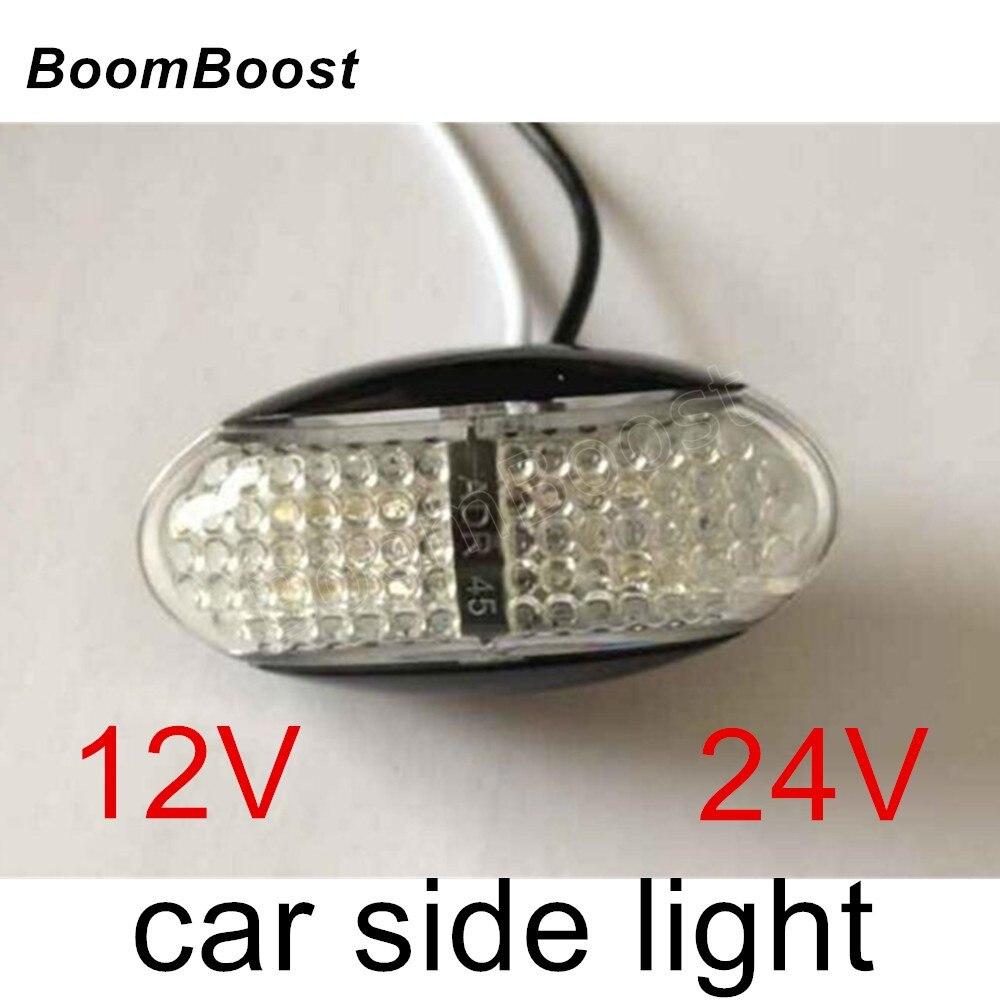 Boomboost Лидер продаж 1 предмет 12 В 24 В Прицепы truck LED задний фонарь задний Лампы для мотоциклов поворотов Тормозная номерной знак 4 вида цветов ...