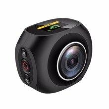 4 К HD 360 панорамный Камера VR Мини Ручной уникального Двойной объектив Спорт Камера Wi-Fi ВИДЕО Action Sports Камера PANO360