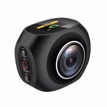 4K HD 360 Panoramic Camera VR Mini Handheld Unique Dual Lens Sport Camera WiFi Video Action Sports Camera PANO360