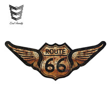 EARLFAMILY 15cm x 6cm Rat Rod US Highway Route 66 Car Stickers Vinyl Decal Personality Waterproof Accessories(China)