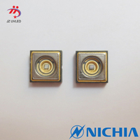 Original Nichia UVLED light source 365nm 410nm ink glue curing special UV lamp beads ncsu033bt
