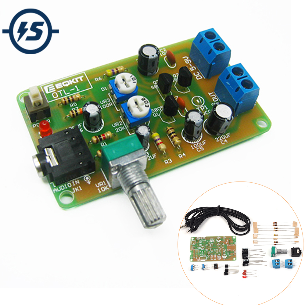 20w Hifi Lm1875t Mono Channel Amplifier Board Stereo Audio Power Otl For Cassette Radio Booster It Have Transistor 1 Circuit Diy Kit High Sensitivity Discrete Component Suite
