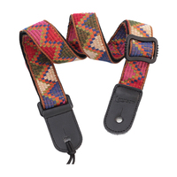 12pcs Longteam New Leather Head Cotton Guitar Strap The Long Team With The Strings Electric Bass