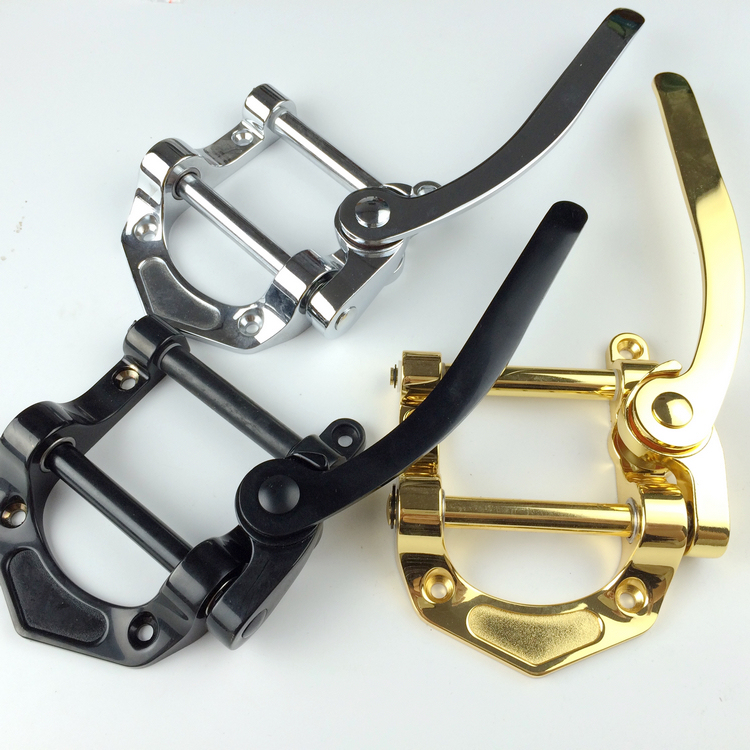 Electric Jazz Guitar Bridge Tremolo System Tailpiece 3 Color Sliver Gold Black Musical Instrument New genuine original floyd rose 5000 series electric guitar tremolo system bridge frt05000 black nickel cosmo without packaging