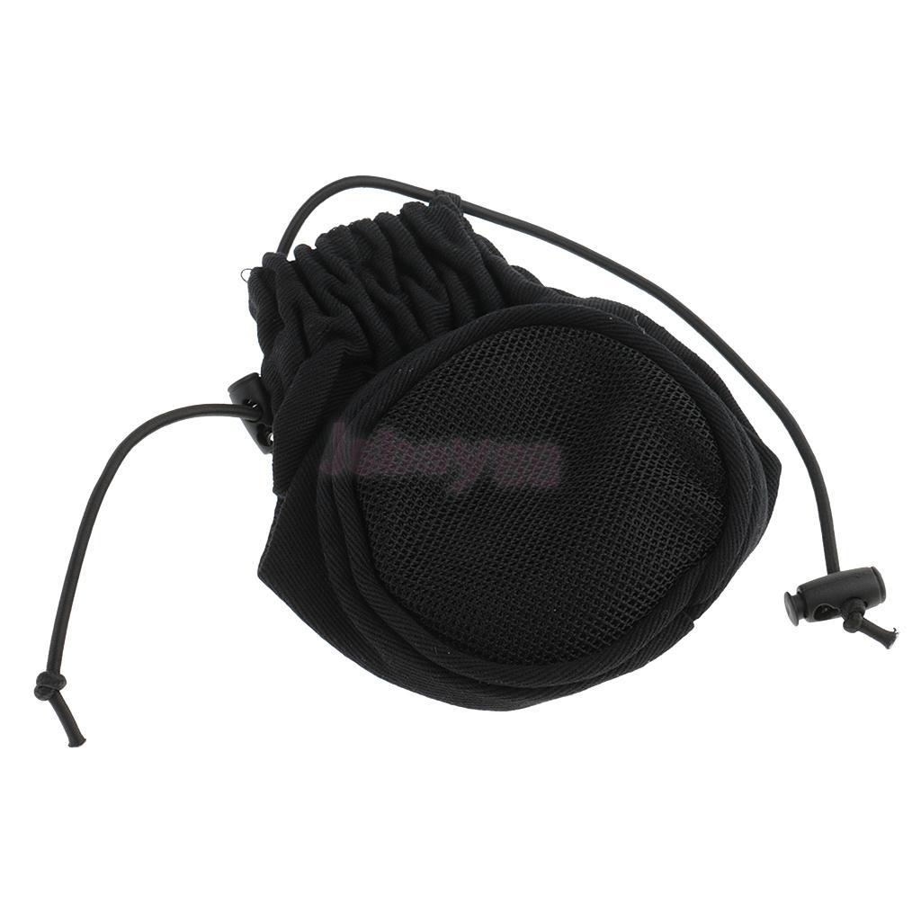 Faltbare schwarze Universal Föhn Socke Diffusor Wind Blow Attachment Cover