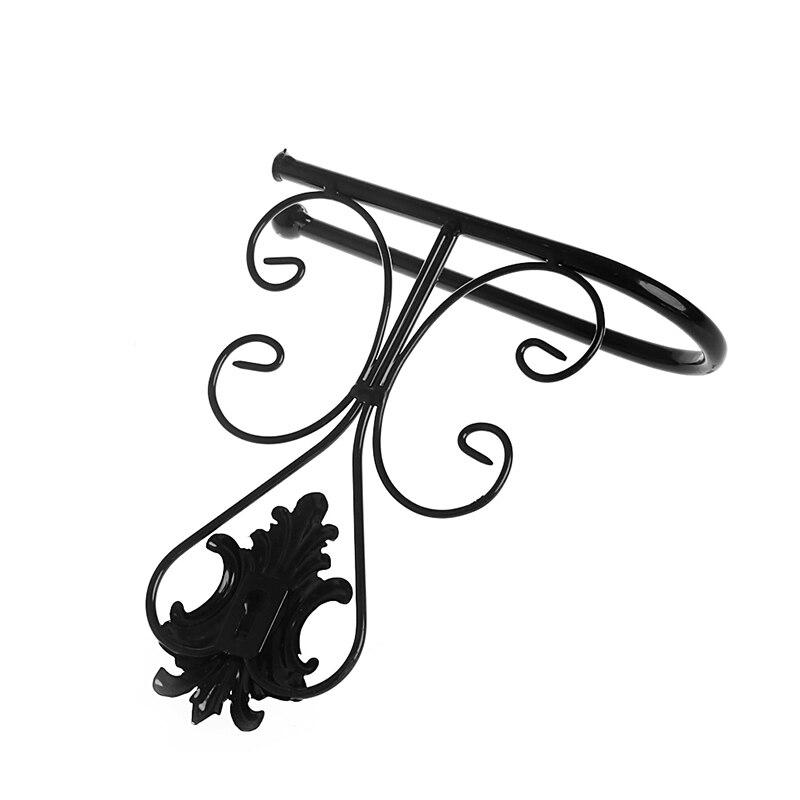 Винтаж Утюг туалетная бумага полотенца держатель рулона ванная комната настенный держатель для ванной комнаты черный новый