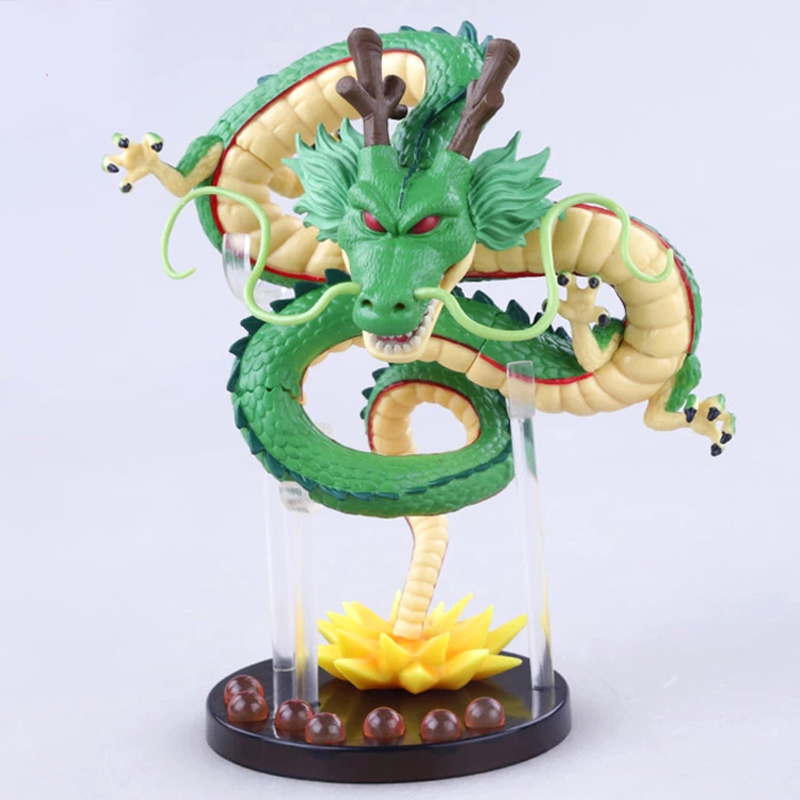 XIESPT Anime Cartoon Dragon Ball Z ShenRon Dragon PVC Action Figure Collectible Model Toy j g chen anime cartoon dragon ball z shenron shenlong gold pvc action figure collectible model toy free shipping