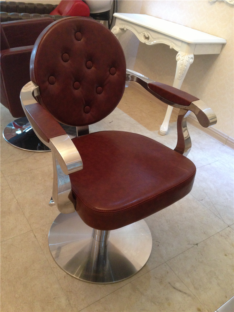 hair back chair. hairdressing
