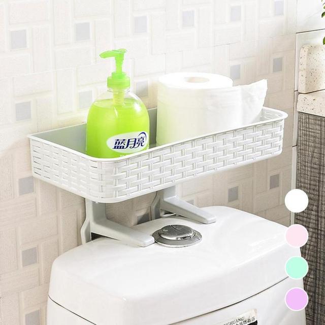 1 unids baño Percheros cocina titular rack de almacenamiento de ...