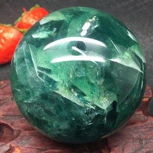 Image 2 - ธรรมชาติ Fluorite ควอตซ์คริสตัลบอล Healing