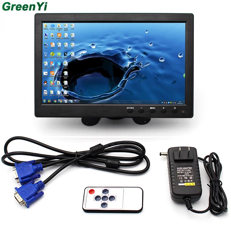 Prix pour 10.1 Pouce 1024*600 Pixels HDMI VGA AV Moniteur De Voiture Avec Marque Nouvel Écran Mince Conception UV Revêtement, convient Pour la Surveillance, ETC.