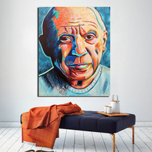 Pablo Picasso Portrait Painting Canvas Painting Prints Living Room Home Decoration Modern Wall Art Oil Painting Posters Pictures self portrait facing death pablo picasso canvas painting living room home decoration modern wall art oil painting poster picture