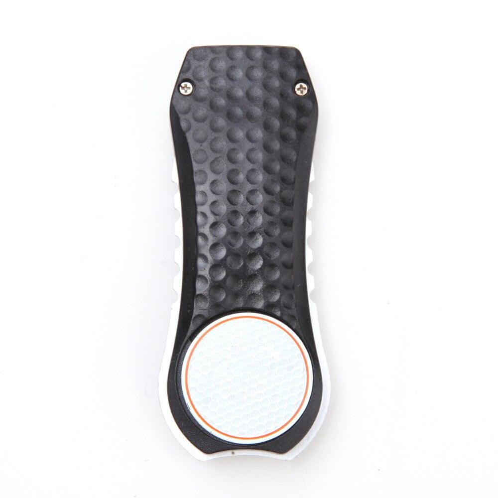 Nuevo Portable Práctico de Acero Inoxidable Negro Club de Golf Bola Putting Green Tenedor Divot Césped Golf Training Aids Multifunción