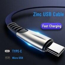 USB Kabel Für iPhone XR USB Typ C Schnelle Lade usb c Kabel Für Samsung S9 S8 Xiaomi Pocophone F1 telefon Ladegerät Micro USB Kabel