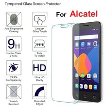 High Clear Explosion-proof Front LCD Tempered Glass Film For Alcatel One Touch Pop2 M5 (4.5) 5042 5042D 5042E Pelicula de vidro(China)
