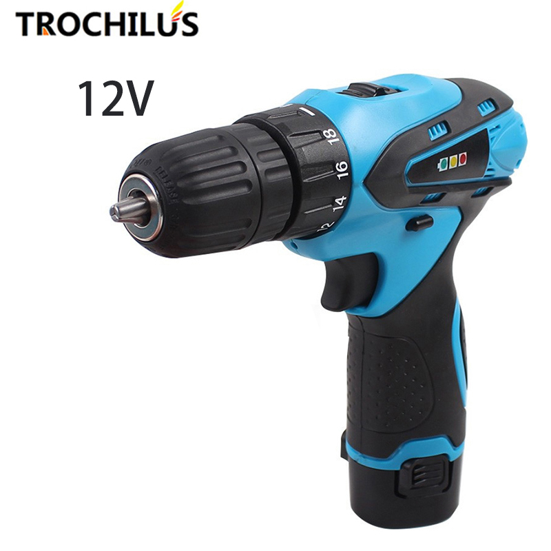 High quality 12V cordless Screwdriver Multifunctional Power Tools Miniature Electric Screwdriver with Lithium Battery high quality power tool 25v cordless