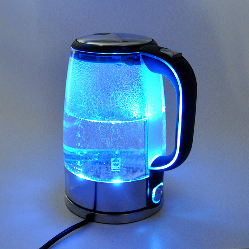 цена на German imported transparent glass electric kettle Overheat Protection
