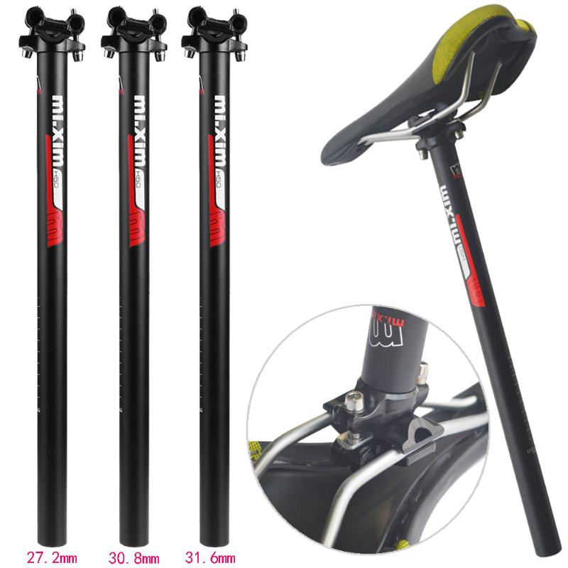 Bicycle Seatpost Aluminum Alloy Bike Seat Posts Tube MTB Road Seatpost Seat Parts Cycling Accessory 27.2/ 30.8 / 31.6mm 2018 New