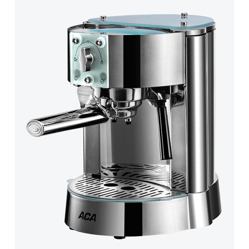 Ev Aletleri'ten Kahveciler'de 1250 W Pompa tipi Kahve makinesi Ev Ticari İtalyan Yarı Otomatik Buhar tipi Kahve makinesi 15Bar title=