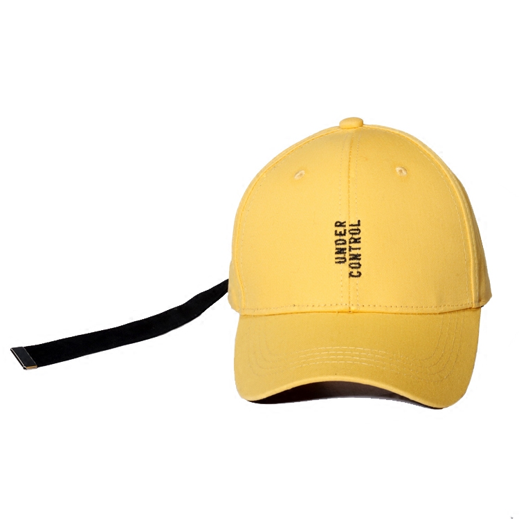 yellow baseball cap walmart toddler men caps summer letter embroidery hats with long belt women casual for sale