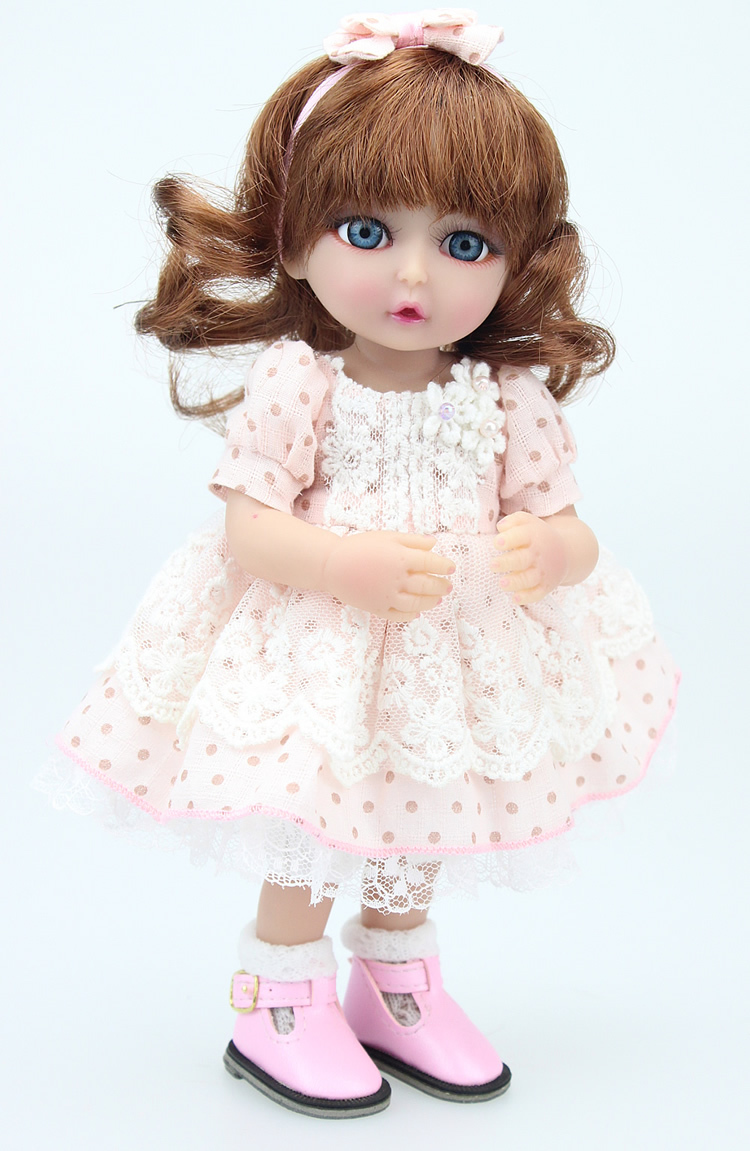 "10"" girl reborn baby doll handmade lifelike and realistic dolls bath"