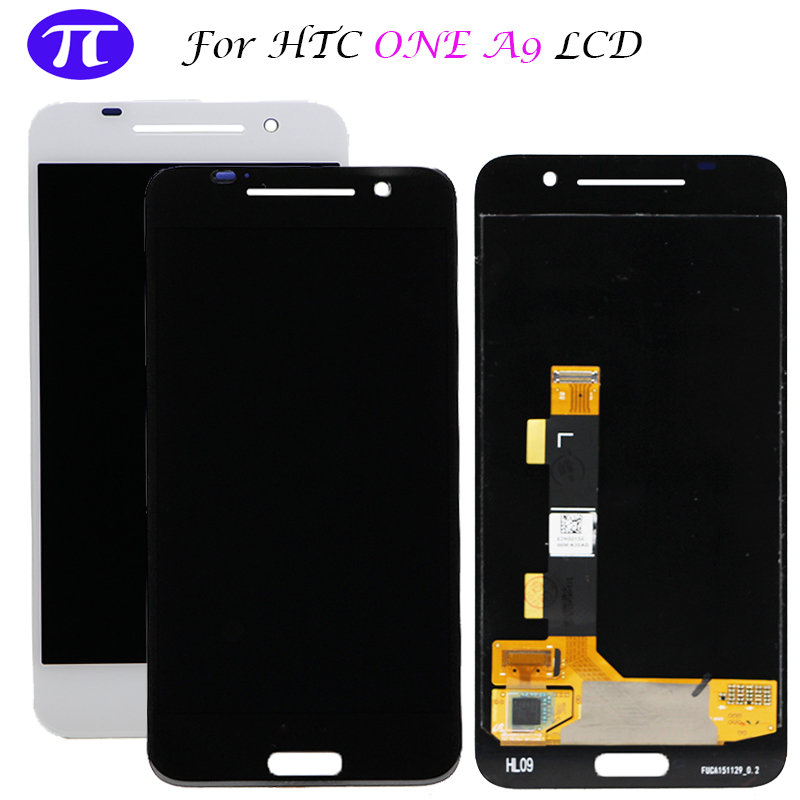 100 test 5 0 For HTC One A9 LCD Display Touch Screen Digitizer Assembly Replacement For