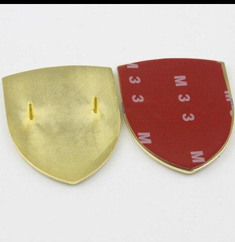 銅addmoreポルシェカイエン用車のフロントカバーのロゴエンブレム911ボンネットフード51