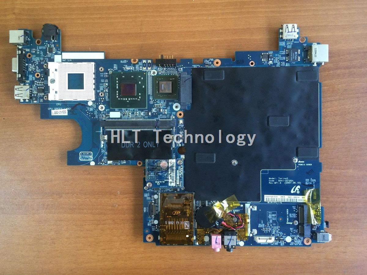 SHELI laptop Motherboard For Samsung Q45 Q70 BA92-04551B BA41-00728A DDR2 non-integrated graphics card 100% fully tested sheli laptop motherboard for toshiba a350 ktkaa la 4571p ddr2 cpu integrated graphics card 100% fully tested