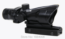 Hot Sale Tactical 4×32 ACOG Style Optical Scope With Red Fiber For Hunting BWR-037R