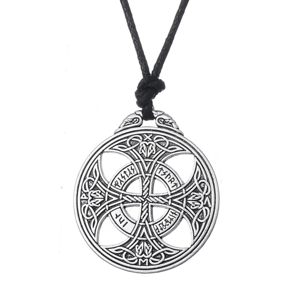 Redwap Lucky Knot Viking Norwegian Rune Wiccan Pagan Asatru - მოდის სამკაულები - ფოტო 2