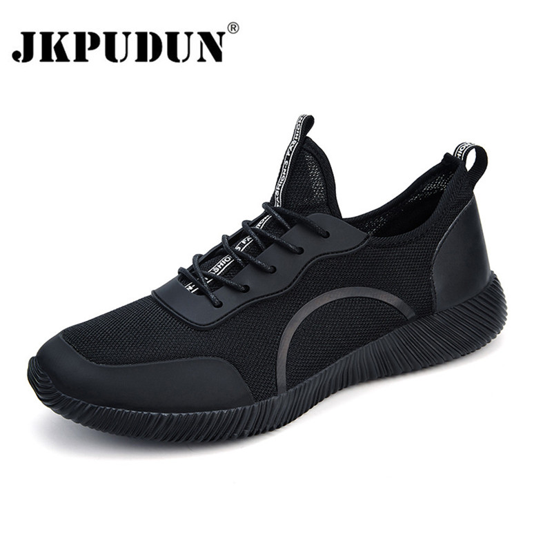 JKPUDUN Men Shoes 2018 Summer Sneakers Breathable Mens