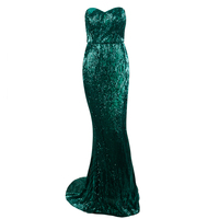 Fashion Hot Selling Green Off Shoulder Elegant Homecoming Gown Cocktail Ladies Dress Celebrity Party Apparel Vestidos Wholesale