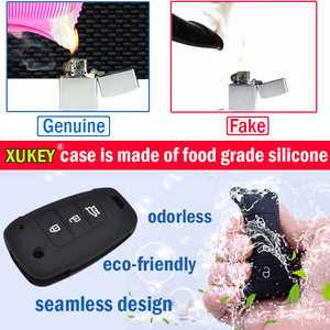 Image 3 - For Toyota Sienta Alphard Voxy Noah Esquire Harrier Silicone Remote Key Case Fob Shell Cover Skin 4 Button 2015   2018 2019