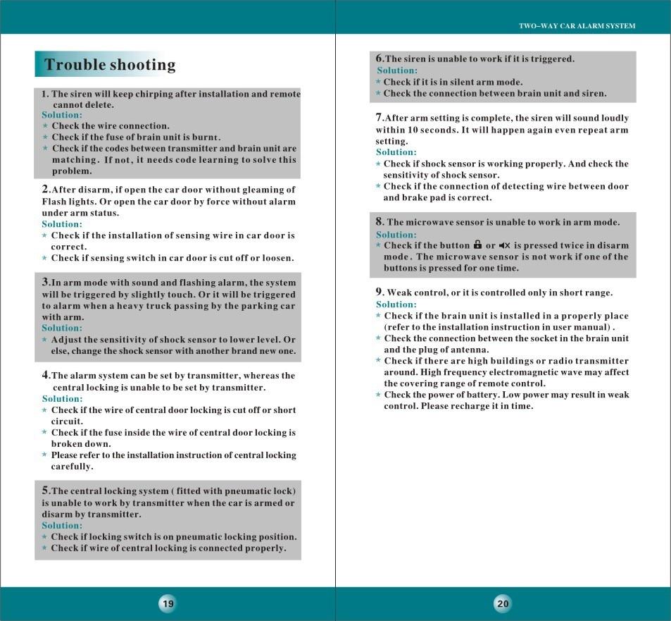 Spy 5000m Car Alarm Wiring Diagram Door Librarydetailed User Manual