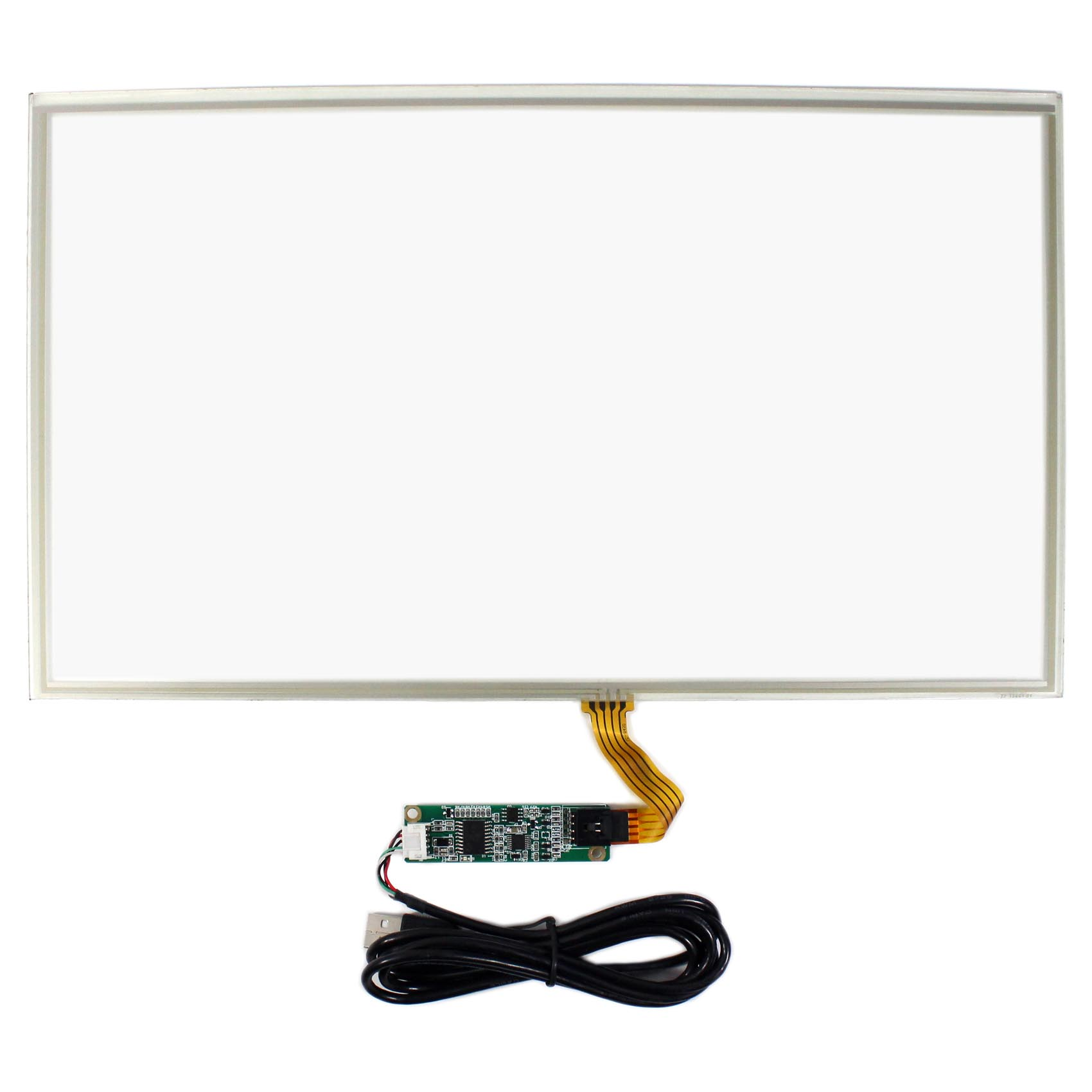 15.6 4 Wire Resistive Touch Panel USB Controller For 15.6inch LCD Screen фреза johnson blade knife