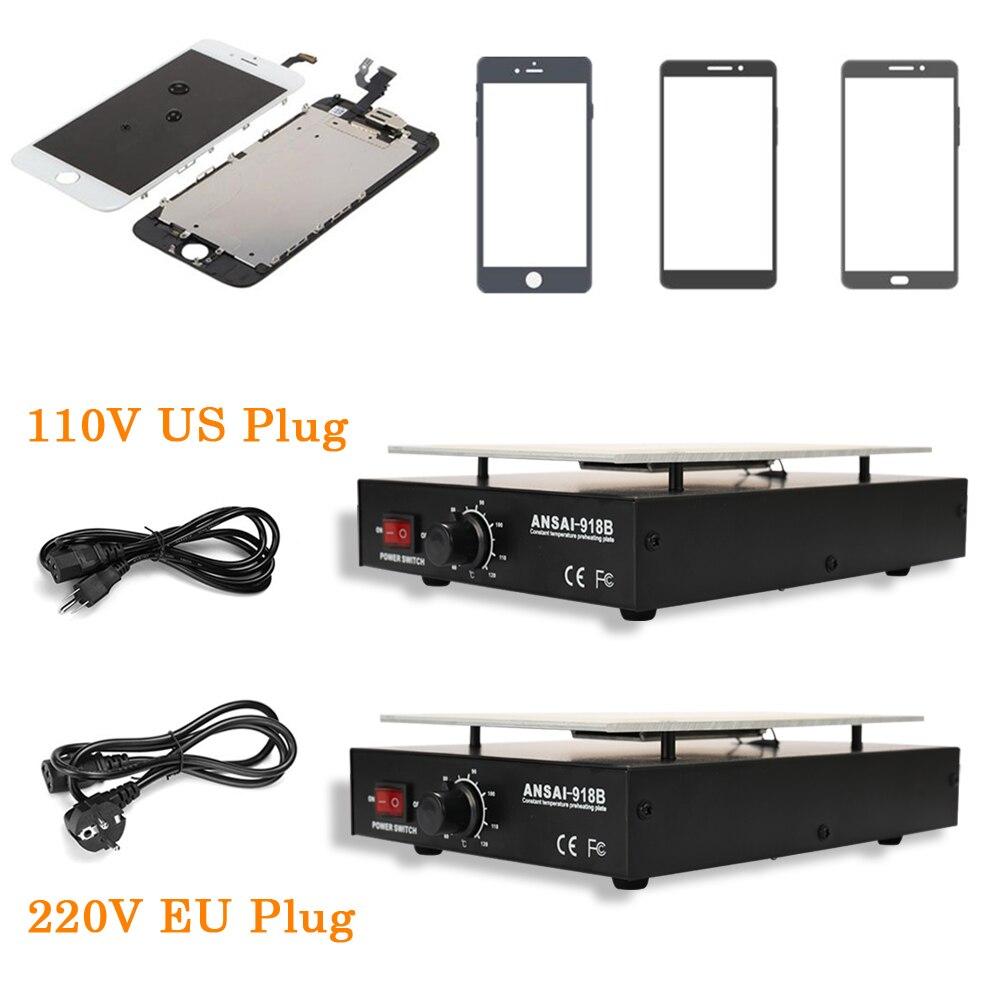 Image 5 - KKMOON LCD Heating Platform Metal Removal Phone separator Repair Machine Auto Heat Smooth Plate Screen Separator-in Power Tool Sets from Tools
