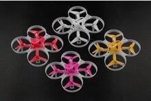 Ldarc kit tiny8x 85mm quadro para mini fpv, corrida de drone, quadcopter rc racer