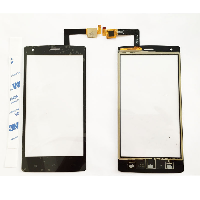 5 inch Touch Panel Front Glass For Fly iq 4505 iq4505 quad era life 7 Touch Screen Sensor Glass High Quality ...