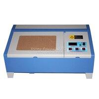 40W 3020 CO2 Digital laser engraving cutting machine for PCB, crystal, wood, organic plastic